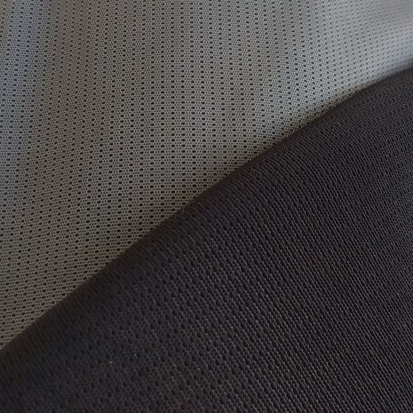 Stretch mesh fabric for backpacks