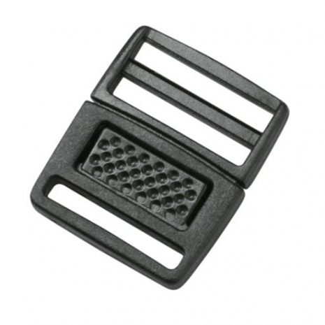 low profile center push buckle