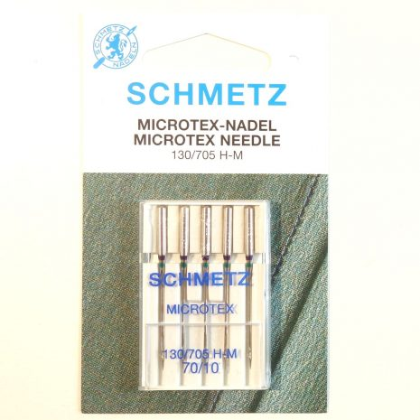 Schmetz microtex needles size 70