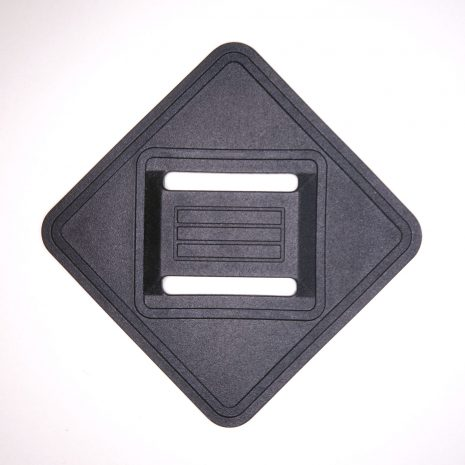 Sew on webbing attachment point