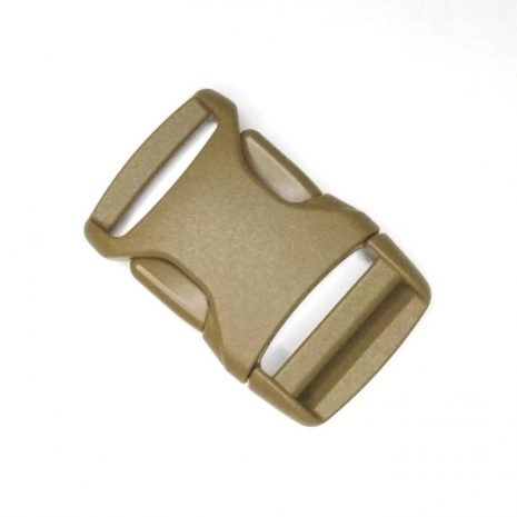 High quality Side release buckle coyote brown