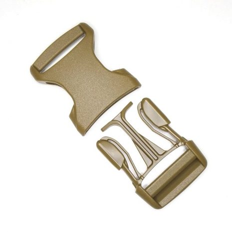 High quality Side release buckle coyote brown II