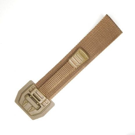 Spanish quick release buckle coyote brown