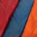 crimson red, moroccan blue, burnt orange