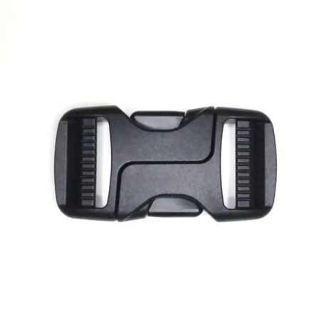Dual adjustable symmetric buckle 25mm