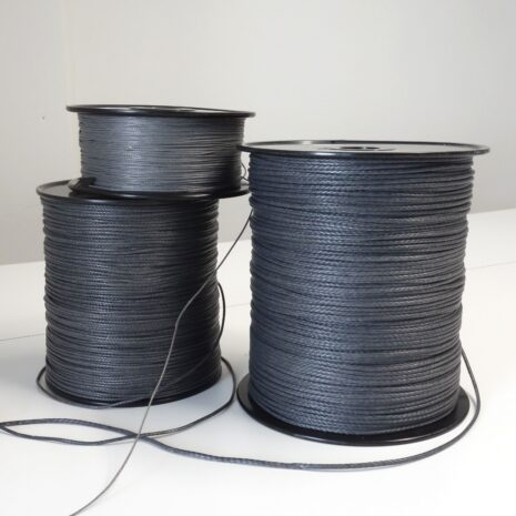 100% UHMWPE spliceable cord 1mm, 2mm, 3mm