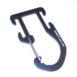 Aluminium accessory carabiner for 25mm webbing