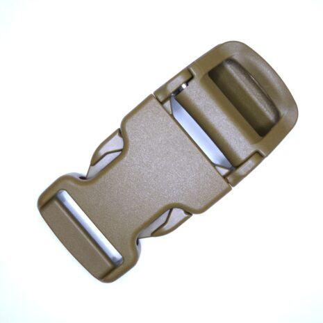 Auto cam buckle coyote 25mm