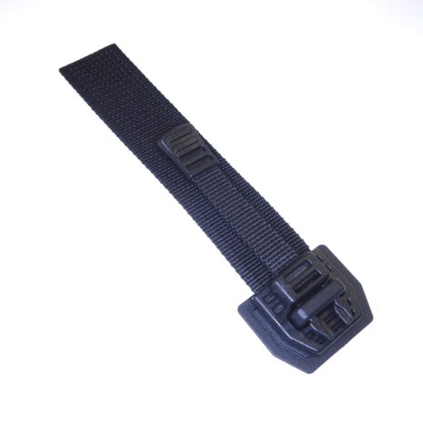 Quick release pouch buckle black