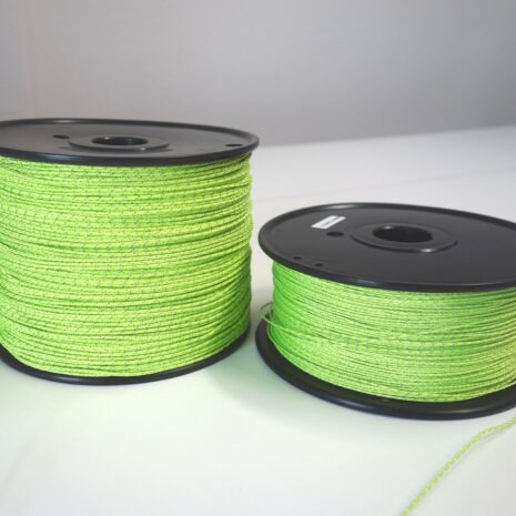 Reflective cord for tents