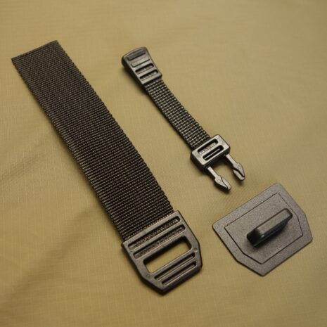 Spanish quick release buckle black