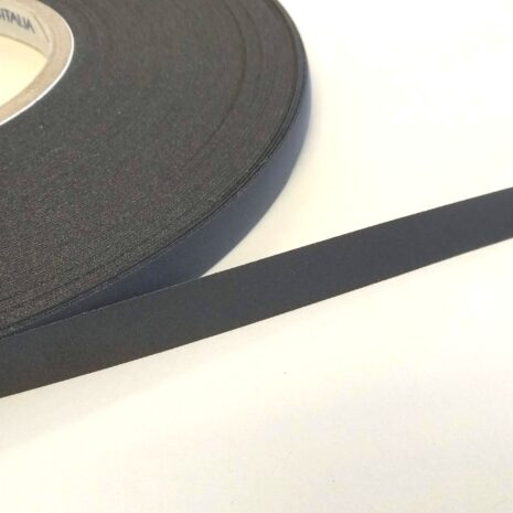 Black reflective tape heat activated